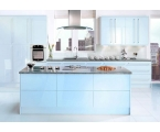 Blue Kitchen Cabinets for Alive Look