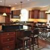 Cherry Kitchen Cabinets: Fixing the Scratch in No Time