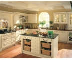 Cream Kitchen Cabinets for Soft and Comfortable Feelings