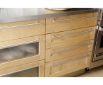 Kitchen Cabinet Inserts as Dressing Up Solution for Kitchen