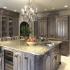 How to Antique Kitchen Cabinets with Faux Finishing