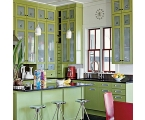 Paint Kitchen Cabinets Create New Atmosphere in Your Kitchen