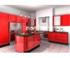 Red Kitchen Cabinets: Essence Behind the Color Red