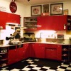 Vintage Kitchen Cabinets with Interesting Historic
