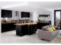 Black Kitchen Cabinet for Sophisticated Kitchen