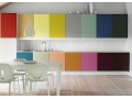 Colored Kitchen Cabinets Trend Building up Kitchen Atmosphere