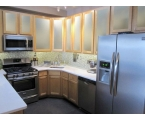 Frosted Kitchen Cabinets Doors: Easy Ways Installing Frosted Doors to Cabinets