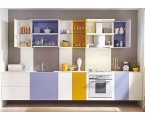 Color Combination Kitchen Cabinets for a More Beautiful Kitchen