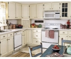 Unique Light Kitchen Cabinet Painting Ideas