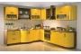 Yellow Kitchen Cabinets for Cheerful Modern Design