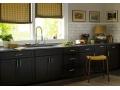 Dark Kitchen Cabinets with Some Customization