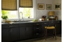 Dark Kitchen Cabinets with Some Customization