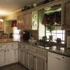 Kitchen Cabinets Painted with Chalk Paint: Do It Yourselves with Passion