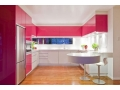 U Shaped Kitchen Cabinets for U-typed Kitchen