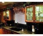 Decorative Glass Kitchen Cabinets to Add Exclusive Touch