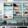Doorless Kitchen Cabinet for a Practical and Attractive Look