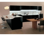 Kitchen with Black Cabinets to Add Different Touch in Your Kitchen