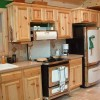Kitchen Design with Pine Cabinets and the Good Options