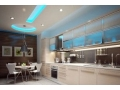 Less Heat and More Light with the Kitchen LED Lighting