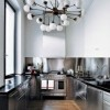 Cool Kitchen Lighting Industrial Style Sporting Stunning Look