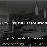Dark Grey Kitchen Cabinets Wall Colour 150x150 Grey Kitchen Cabinets and Cheerful Kitchens