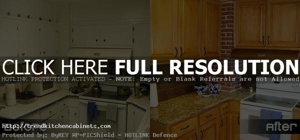 Refacing Kitchen Cabinets Before After Photo Refacing Kitchen Cabinets: a Low Cost and Effective Way to Refresh the Kitchen