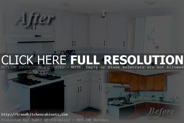 Refacing Kitchen Cabinets Before After Refacing Kitchen Cabinets: a Low Cost and Effective Way to Refresh the Kitchen